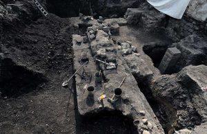 Trabzon'da otopark kazısı: Roma ve Geç Bizans dönemine ait kalıntılar bulundu