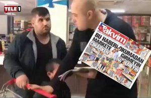 Yurttaşlar Takvim gazetesini tiye aldı: 'Burnumuzu kapatıyoruz, cazip kokular seni yoldan çıkarmasın'