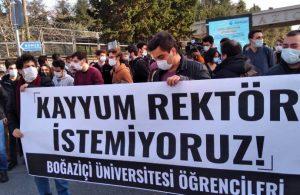 Boğaziçili öğrenciler: Melih Bulu kaldığı sürece protestolar sürecek