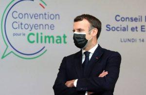 Fransa Cumhurbaşkanı Emmanuel Macron'a 1 euro ceza