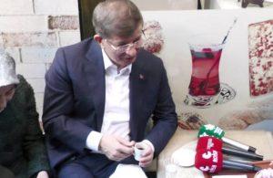 Davutoğlu ile vatandaş arasında 'Pelikan' sohbeti