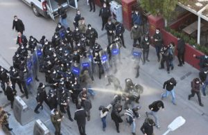Ankara'da Boğaziçi protestosuna polis müdahalesi: Gözaltılar var