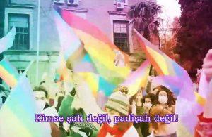 """Boğaziçili öğrencilerden 'Padişah' klibi: """"Seni bir eylemle rezil ederim"""""""