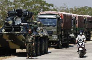 Myanmar'da askeri cunta interneti kapattı