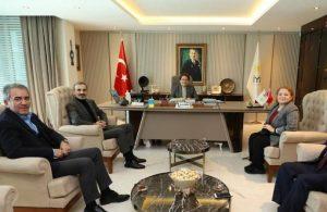 Meral Akşener, Türkiye Gazeteciler Cemiyeti yöneticileri ile görüştü