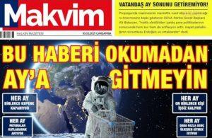 DEVA Partisi'nden 'Makvim' gazetesi: Bu haberi okumadan Ay'a gitmeyin