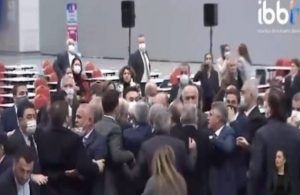 İBB Meclisi'nde 'şantajcı' kavgası