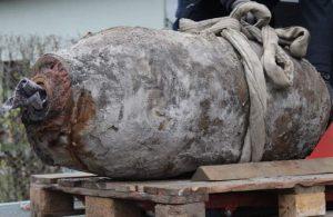 Almanya'da İkinci Dünya Savaşı'na ait patlamamış bomba bulundu