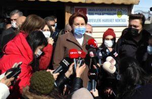 Akşener: Erdoğan zaten itiraf edip sorumluluğu almış