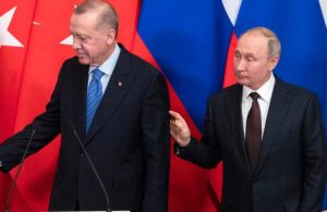 AKP'li Cumhurbaşkanı Erdoğan ile Putin telefonda görüştü