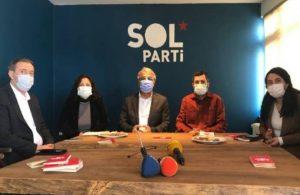 HDP'den Sol Parti'ye ziyaret: Ortak barış mücadelesi oluşturmalıyız