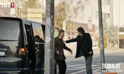 TRT dizisinde siyah transporterlı insan kaçırma sahnesi tepki çekti