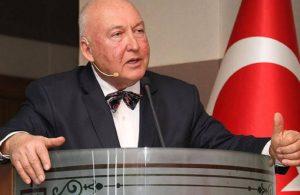 Prof. Ahmet Ercan'dan bir garip deprem uyarısı
