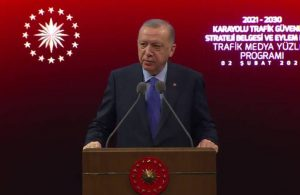 Erdoğan: 'Bütün yollarımız duble yol olacak' dediğimde birileri dalga geçmişti