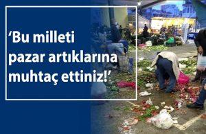 CHP'den kuru soğana muhtaç bırakılan halkın fotoğrafı