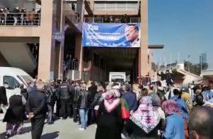 AKP kongresi yine 'lebaleb dolu': Görüntülere tepki yağdı