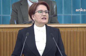 Akşener'den AKP'li Zengin ve Özhaseki'ye tepki: Utançla hatırlanacak bir terbiyesizlik