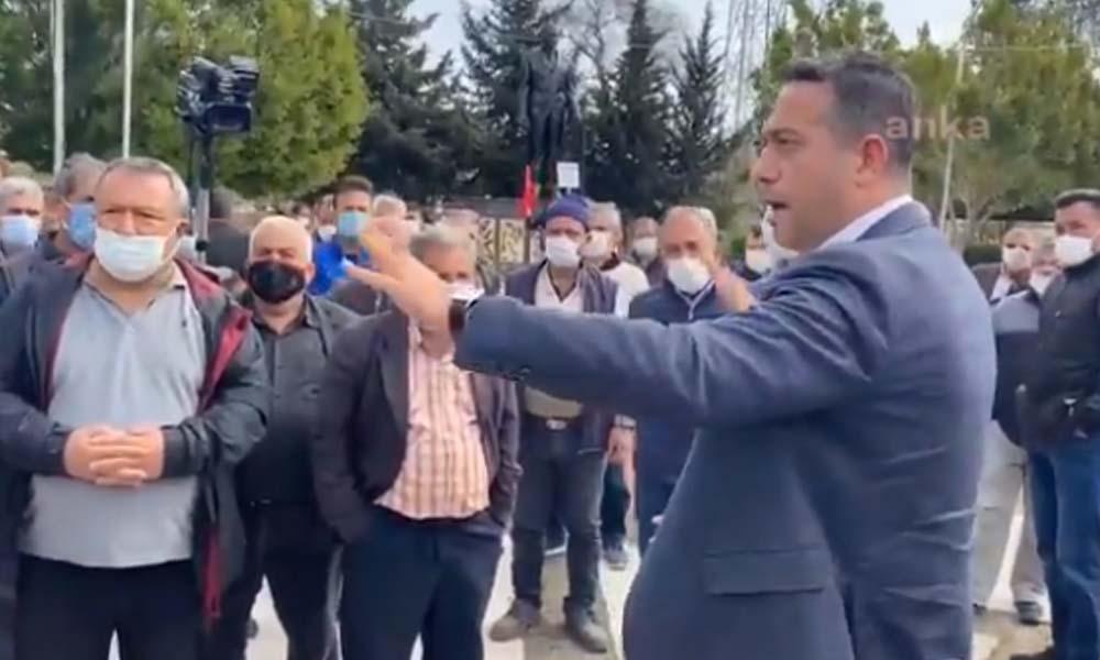 AKP kongresi serbest, çiftçiye protesto eylemi yasak