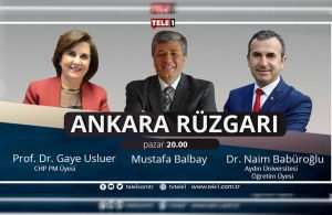 Ankara Rüzgarı, bu akşam saat 20.00'de TELE1'de!