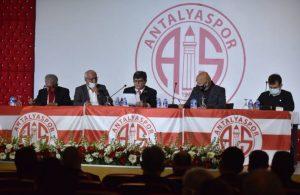 Antalyaspor'un yeni başkanı belli oldu