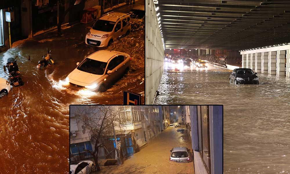 İzmir'i depremden sonra sel vurdu! Can kaybı var