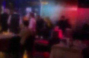 Sevgililer Günü eğlencesine polis baskını: Dans etmeye devam ettiler