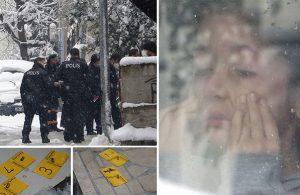 Babası evinin kapısında öldürüldü…Gözyaşları içinde izledi