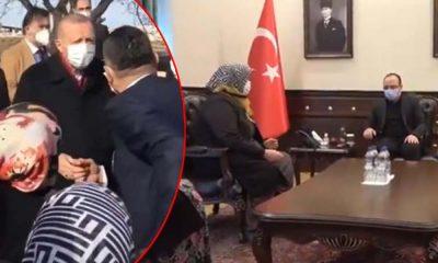 Erdoğan'a 'Açım açım' diyen kadın Valilik'te konuştu: Aç değilim açıkta değilim