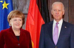 Biden, yaptırımların iptali için Merkel'e şartını sundu