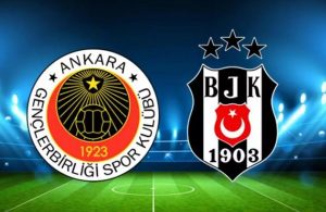 Gençlerbirliği Beşiktaş karşılaşmasında alarm!