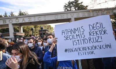 Boğaziçi öğrencilerine 3 yıl hapis istemi