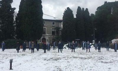 Boğaziçili hocalar -6 derecede nöbete devam ediyor