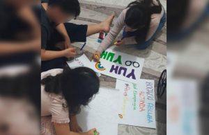 """Polis, """"Boğaziçi Ablukada"""" yazan evi bastı, yazıyı söktü"""