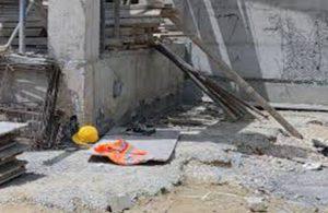 Uyarılara rağmen durdurulmayan inşaatta akıma kapılan işçi, yaşamını yitirdi