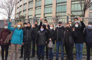 Çağlayan Adliyesi önünde gözaltına alınan 9 kişi serbest bırakıldı