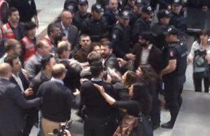 Çağlayan Adliyesi'nde eylem yapan kişilere ilişkin, İstanbul Valiliği'nden açıklama