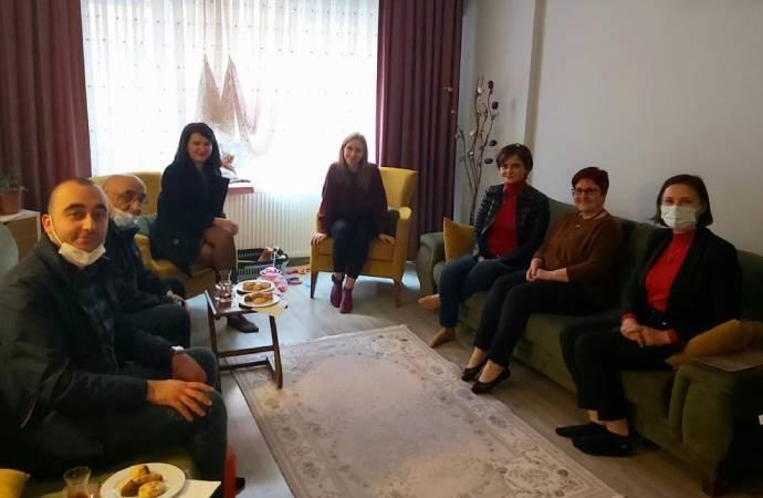 Ev hapsi alan Boğaziçililer'e CHP'den ziyaret