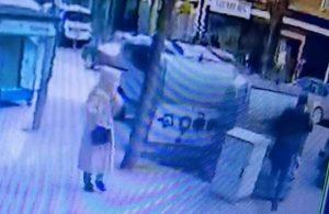 Bursa'daki kaza anı kameralara yansıdı