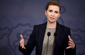 Danimarka Başbakanı evde temizlik yaptığı anları takipçileri ile paylaştı