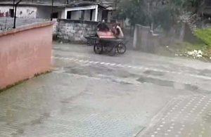 Demir kapı hırsızları yakalandı