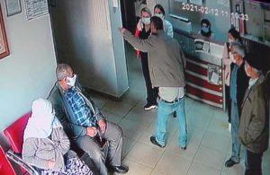 Aile Sağlığı Merkezi'nde skandal: Pantolonunu indirip, sağlık çalışanlarına küfretti