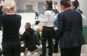 Uçaktan inen yolcu İstanbul Havalimanı'nda doğum yaptı