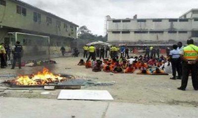 Ekvador'da cezaevinde isyan: En az 50 mahkum öldü