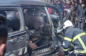 El Bab'da patlama! Ölü ve yaralılar var