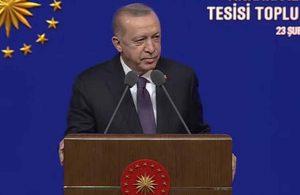 Erdoğan: 1 Mart'tan itibaren 8 ve 12.'nci sınıflarda yüz yüze eğitime başlıyoruz