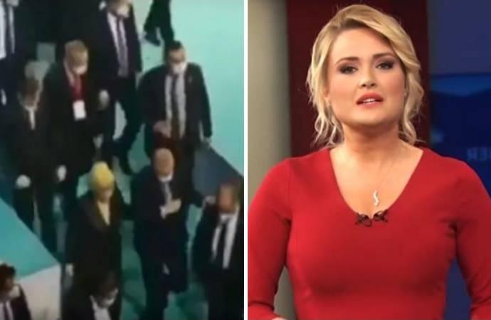 TRT spikeri Erdoğan'ın neden zorlukla yürüdüğünü açıkladı: Ayıptır artık