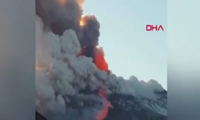 Etna Yanardağ'ı harekete geçti!