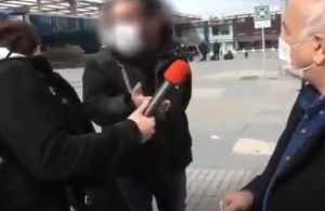 Polis hükümetin eleştirilmesini engelledi