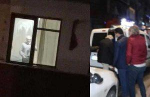 Camdan kadına bakıp mastürbasyon yapan şahıs gözaltına alındı