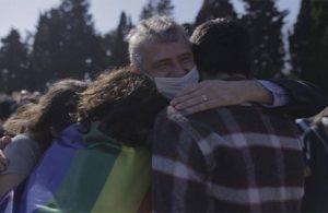 'Sizi yalnız bırakmayacağız' demişti… Öğrencileri, Feyzi Erçin'i mutluluktan ağlattı